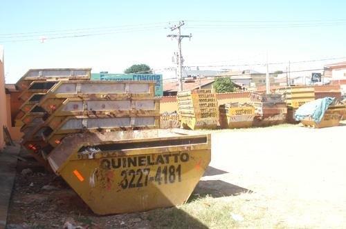 Caçamba construção civil