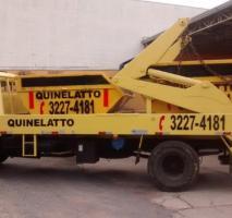 Caçamba para coleta de lixo